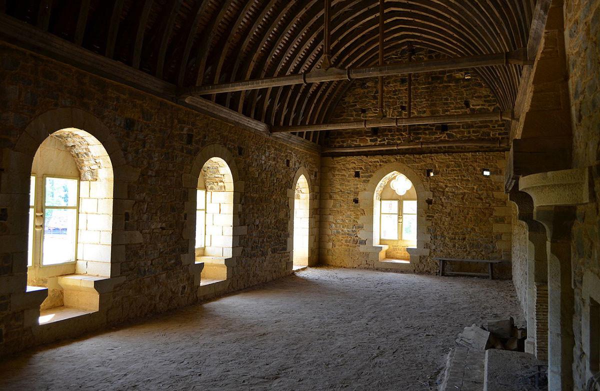 castillo medieval Francia