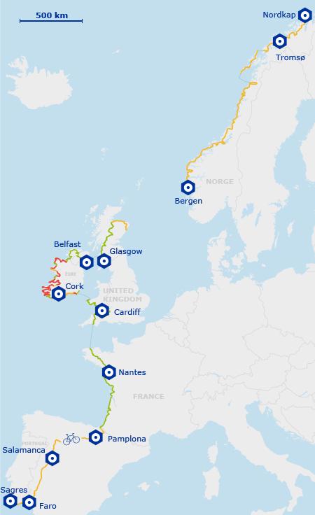 eurovelo ruta atlantica