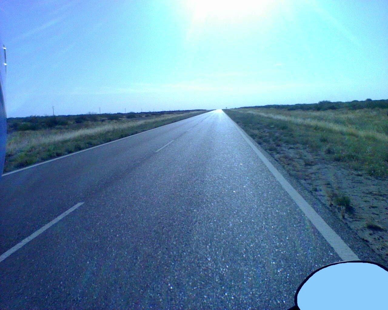 a Bariloche en moto