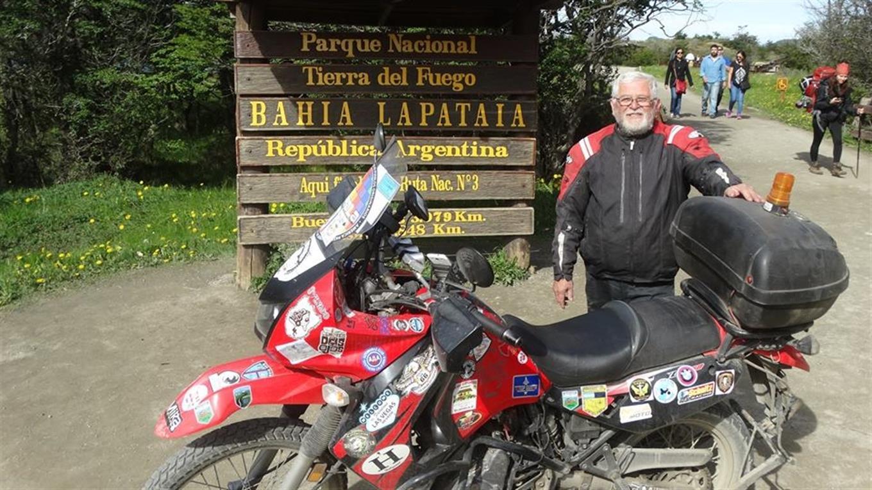 Ricardo Herscovich en Ushuaia