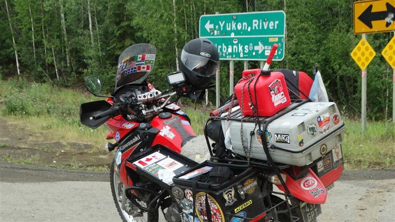 La moto de Ricardo Herscovich
