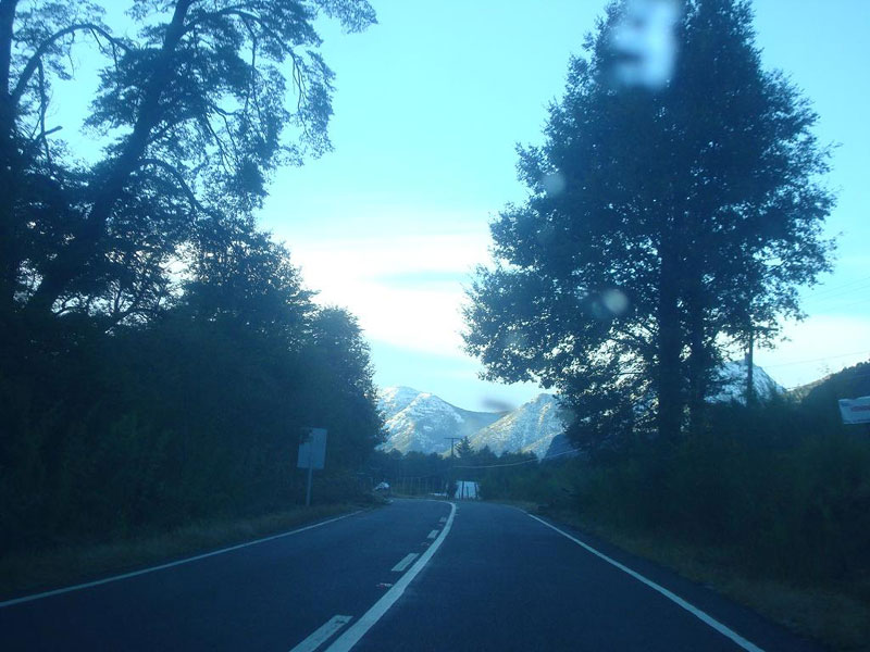 De Talca a Chillan Chile