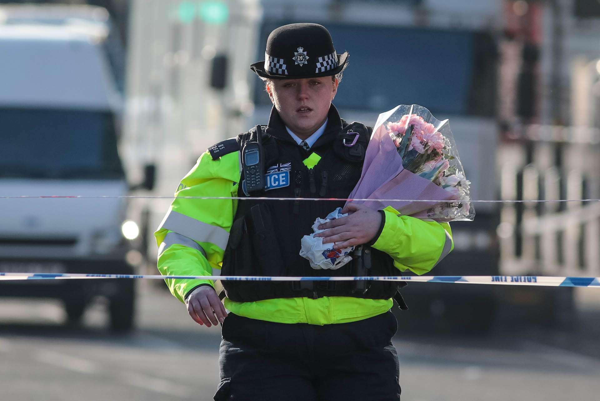 Vigilia por el atentado en Londres