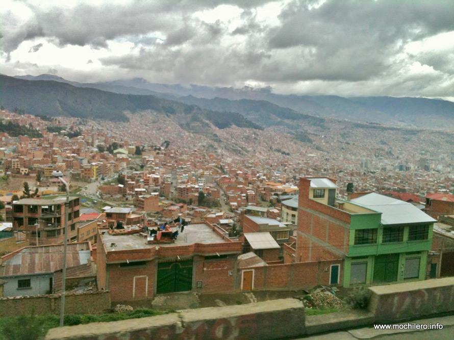 La Paz Bolivia mochileros