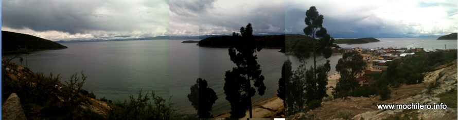 Lago Titicaca Bolivia mochileros