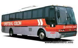 Autobús de Cristóbal Colón