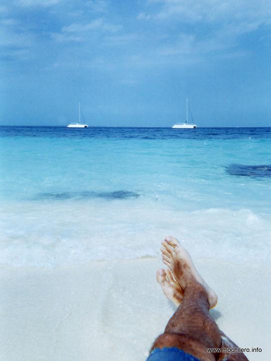 Yo en Playa Tortugas, Cancún