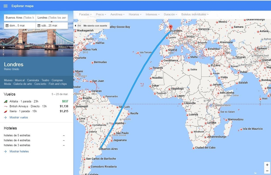 Google Flights Vuelos Baratos