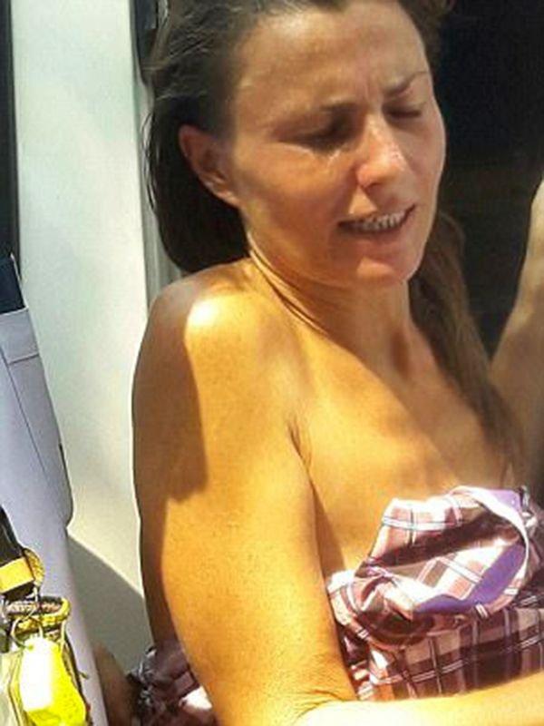 mochilera desnuda bangkok