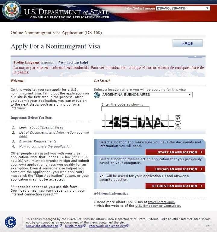 visa no inmigrante estados unidos