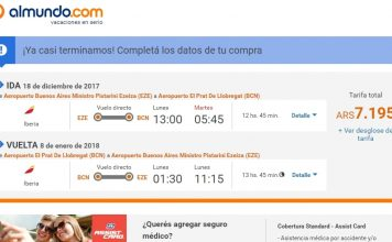 vuelo barato Barcelona Iberia